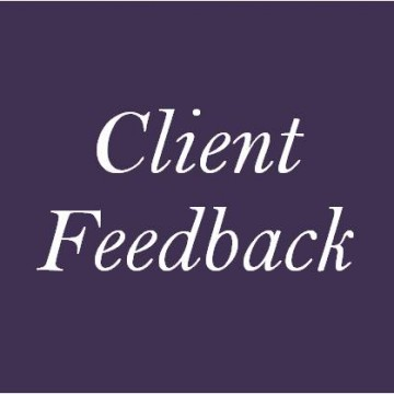 Client feedback 2